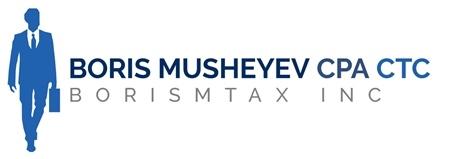 Boris Musheyev, CPA Logo